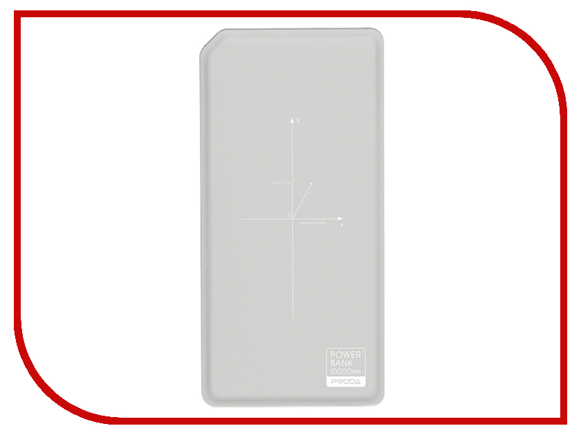 Аккумулятор Remax Proda Chicon Series PPP-33 10000mAh Grey