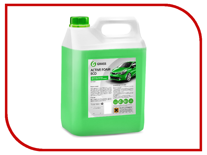 Активная пена Grass Active Foam ECO 5.8кг 113101 пена grass активная active foam truck 1кг 113190