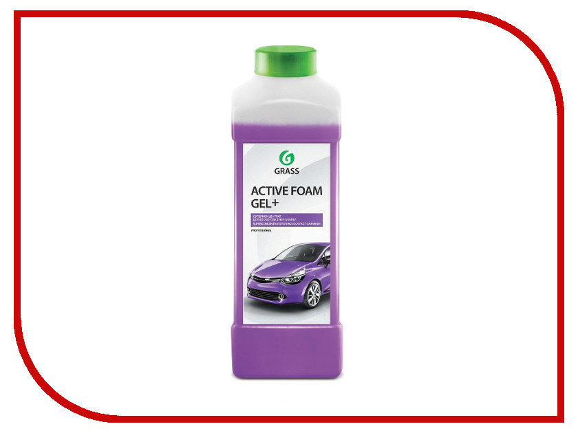 Активная пена Grass Active Foam Gel Plus 1L 113180 пена grass активная active foam truck 1кг 113190