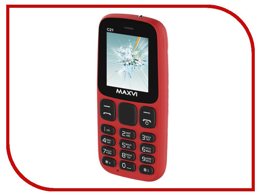 Сотовый телефон MAXVI C21 Red