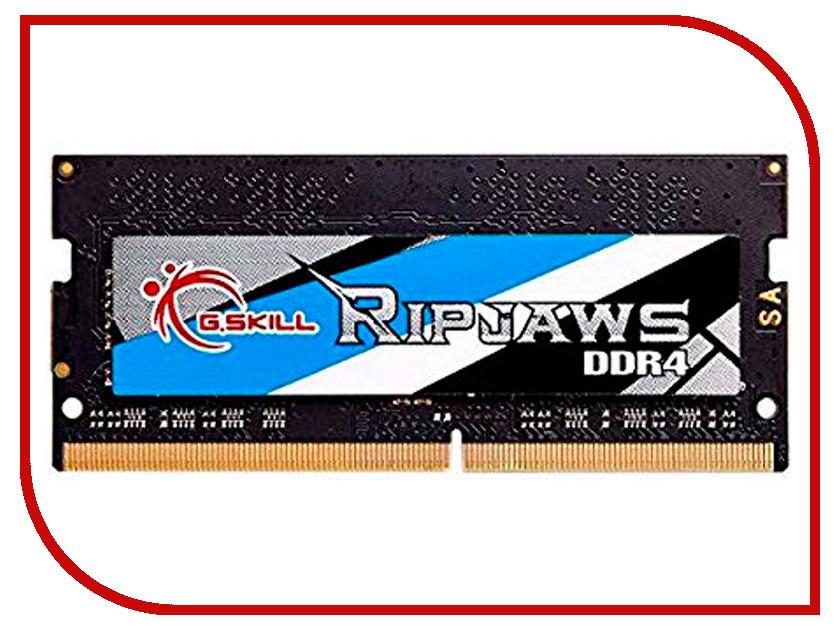 Модуль памяти G.Skill Ripjaws SO-DIMM DDR4 3200MHz CL16 - 8Gb F4-3200C16S-8GRS