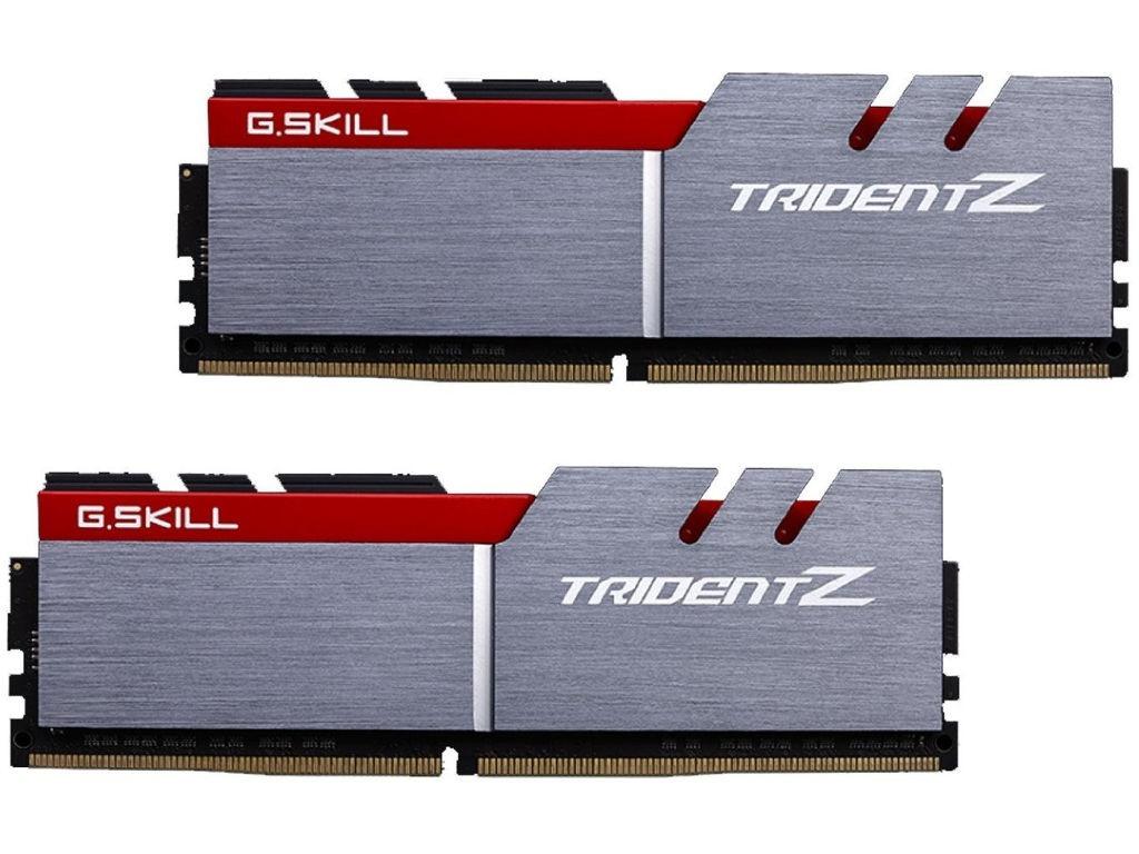 Модуль памяти G.Skill Trident Z DDR4 DIMM 3200MHz PC4-25600 CL16 - 16Gb KIT (2x8Gb) F4-3200C16D-16GTZB