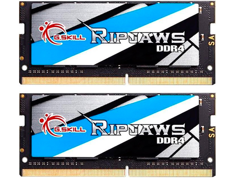 Модуль памяти G.Skill Ripjaws SO-DIMM DDR4 3200MHz CL18 - 16Gb KIT (2x8Gb) F4-3200C18D-16GRS