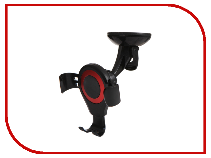 Держатель Baseus Osculum Type Gravity Car Mount Black-Red SUYL-XP09 multi functional plastic car headrest mount dual hanging hook black
