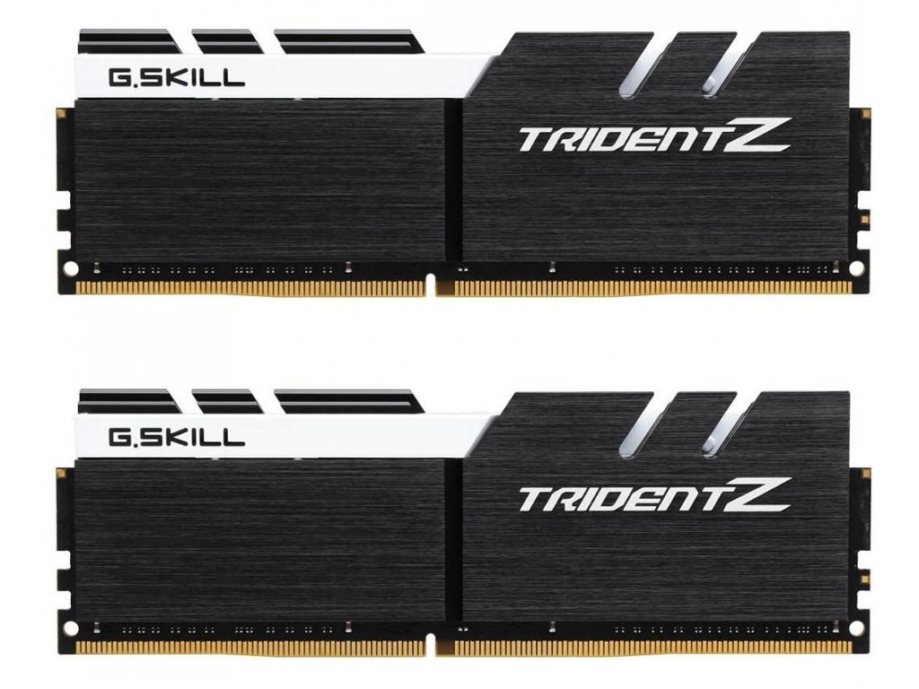 Модуль памяти G.Skill Trident Z DDR4 DIMM 3200MHz PC4-25600 CL16 - 32Gb KIT (2x16Gb) F4-3200C16D-32GTZKW