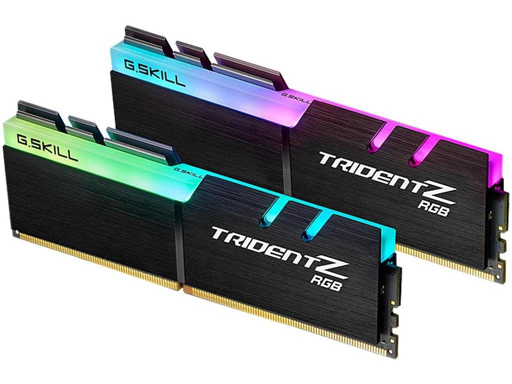 Модуль памяти G.Skill Trident Z RGB DDR4 DIMM 4133MHz PC4-33000 CL17 - 16Gb KIT (2x8Gb) F4-4133C17D-16GTZR