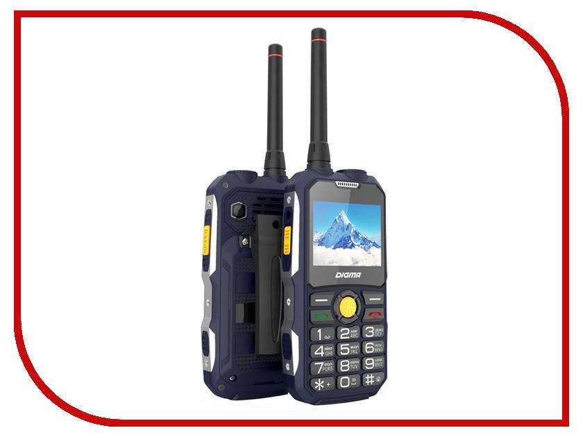 Сотовый телефон Digma Linx A230WT Blue сотовый телефон archos sense 55dc 503438