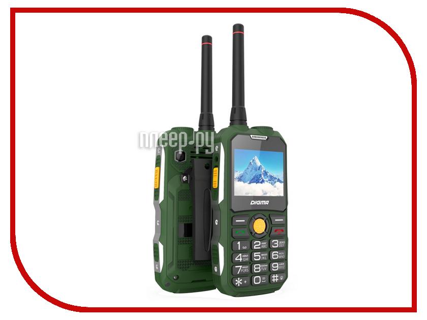 Сотовый телефон Digma Linx A230WT Green чехол клип кейс digma для digma linx c500 citi z510 vox s506 s507s504 прозрачный [500 504 510]