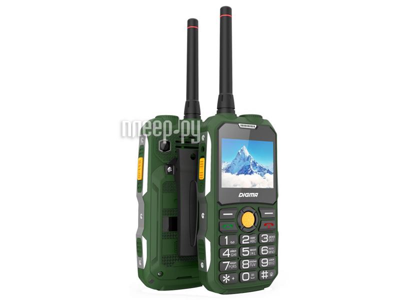 Сотовый телефон Digma Linx A230WT Green