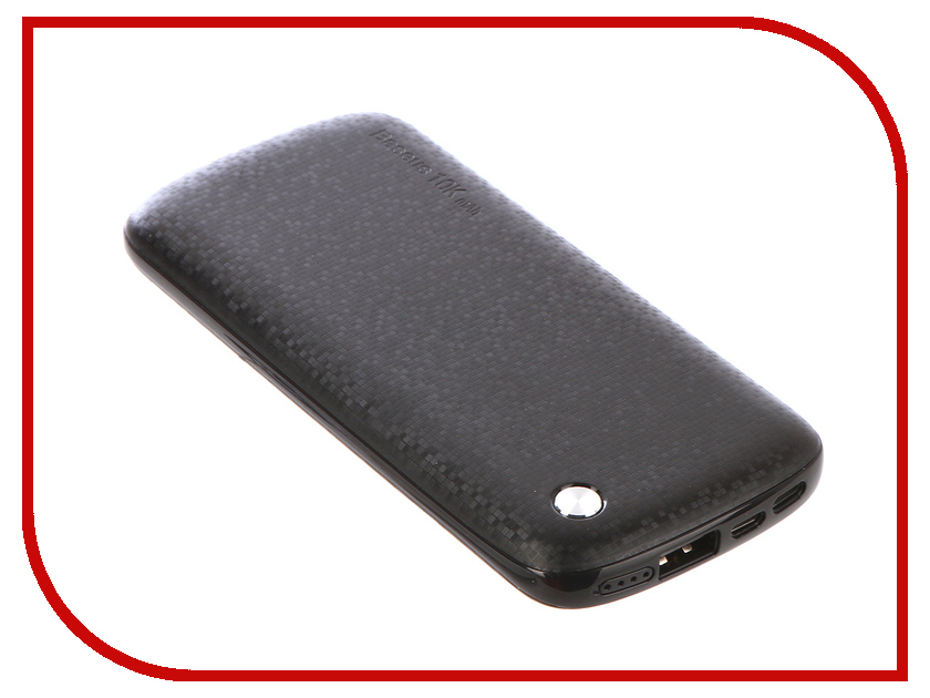 Аккумулятор Baseus Plaid Series 10000mAh Black PPALL-GZ01 904669