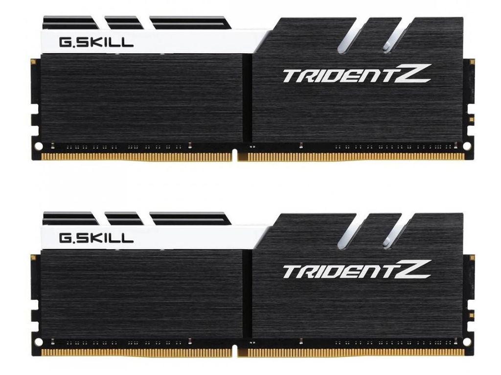 Модуль памяти G.Skill Trident Z DDR4 3200MHz PC4-25600 CL14 - 32Gb KIT (2x16Gb) F4-3200C14D-32GTZKW