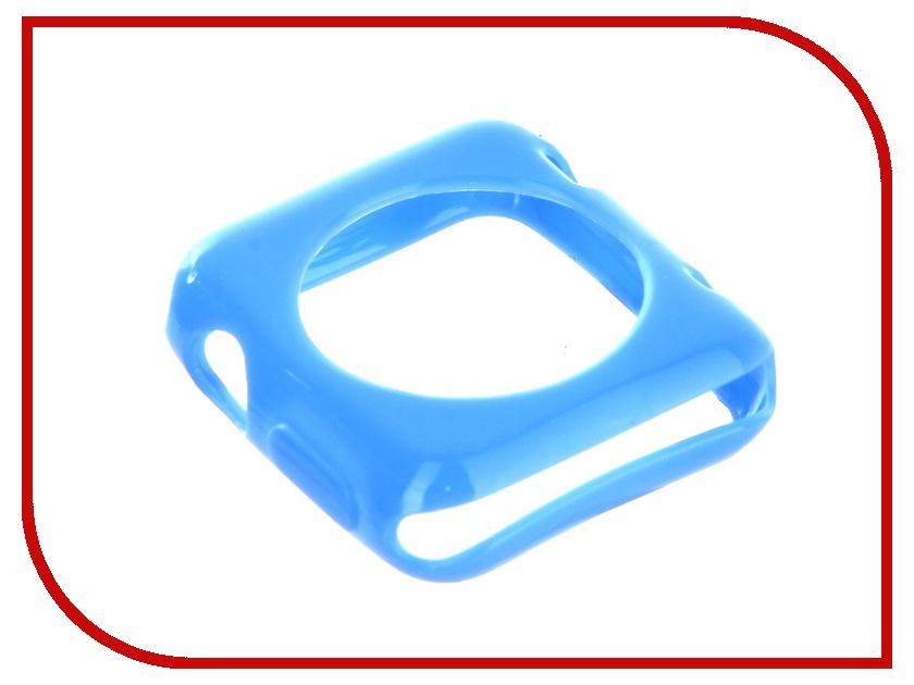 Аксессуар Ремешок Devia Colorfull + Case Apple Watch 42mm Blue 17212 41mm blue ceramic bezel sapphire glass watch case fit eta 2824 2836 movement 140
