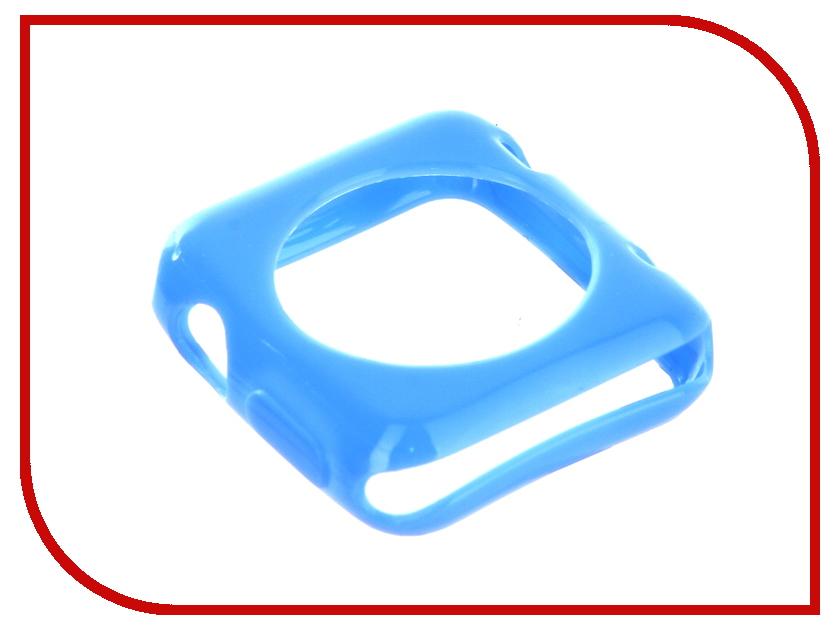Аксессуар Ремешок Devia Colorfull + Case Apple Watch 38mm Blue 19076 41mm blue ceramic bezel sapphire glass watch case fit eta 2824 2836 movement 140