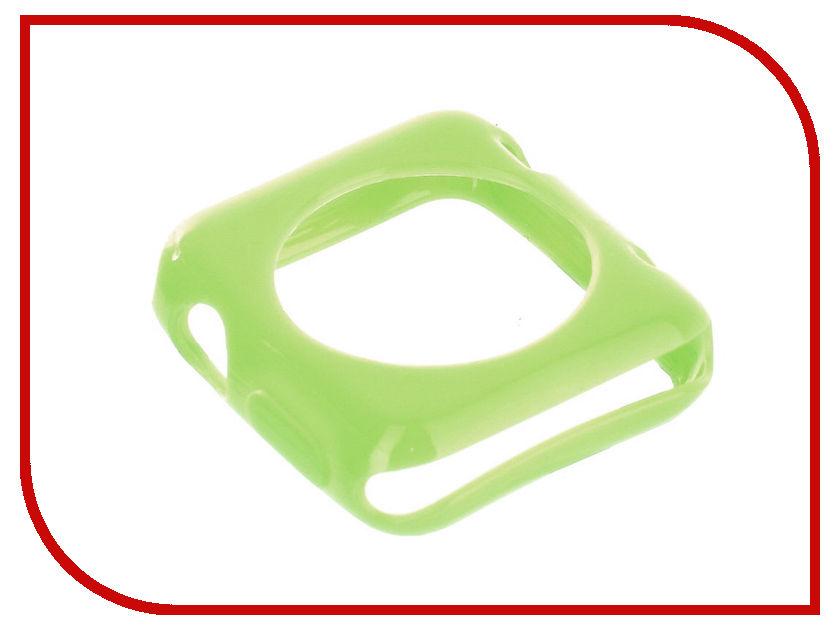 Аксессуар Ремешок Devia Colorfull + Case Apple Watch 38mm Green 19078 wokka watch gw300 green