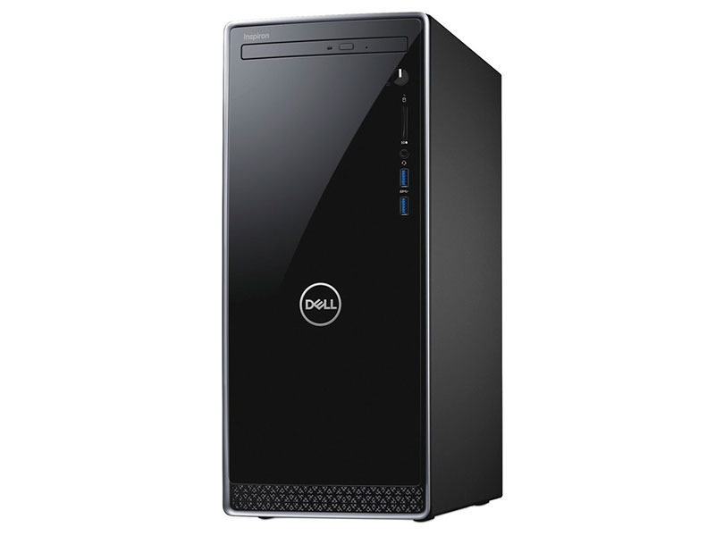 Настольный компьютер Dell Inspiron 3670 MT Black 3670-6603 (Intel Core i7-8700 3.2 GHz/8192Mb/1000Gb+128Gb SSD/DVD-RW/nVidia GeForce GTX 1050 Ti 4096Mb/LAN/Wi-Fi/Linux)