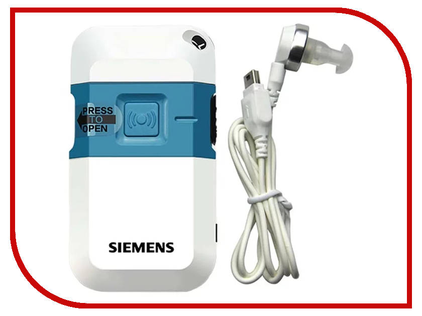 Слуховой аппарат Siemens Pockettio DHP siemens siemens 5tg01261cc1 широкополосный переключатель гнездо видения tv розетка филиал джеймс уайт