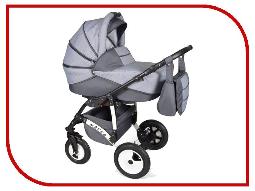 Коляска Alis Mateo 17 2в1 Ma 32 Light Grey-Dark-Grey alis коляска 2 в 1 monica alis серый