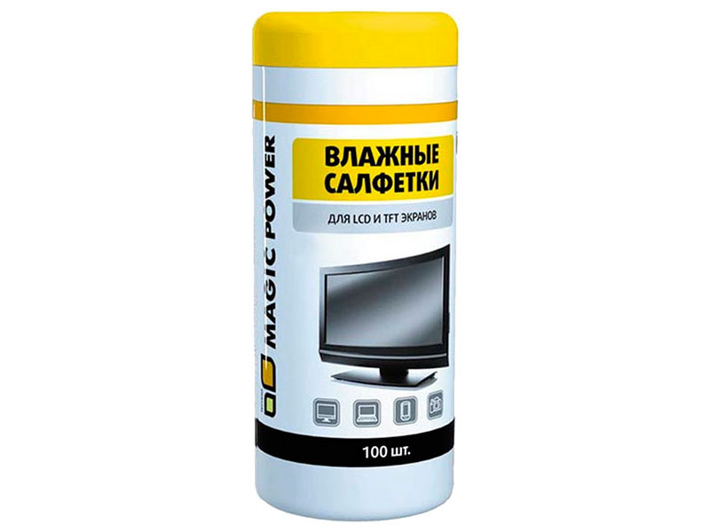 Салфетка для LCD Magic Power MP-820 100 шт
