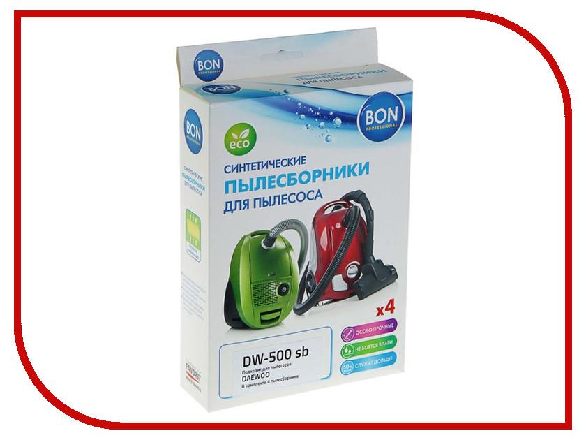 Мешки-пылесборники синтетические Bon DW-500 sb 4шт для Daewoo