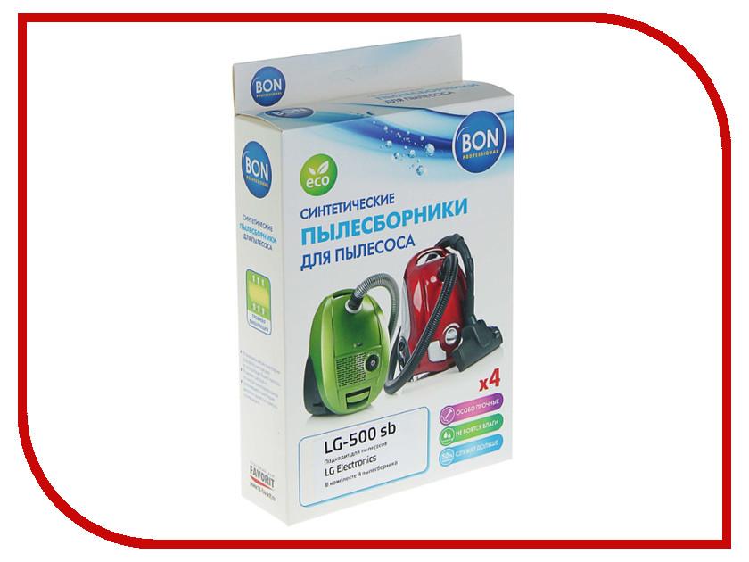 Мешки-пылесборники синтетические Bon LG-500 sb 4шт для LG lg 49uh619v