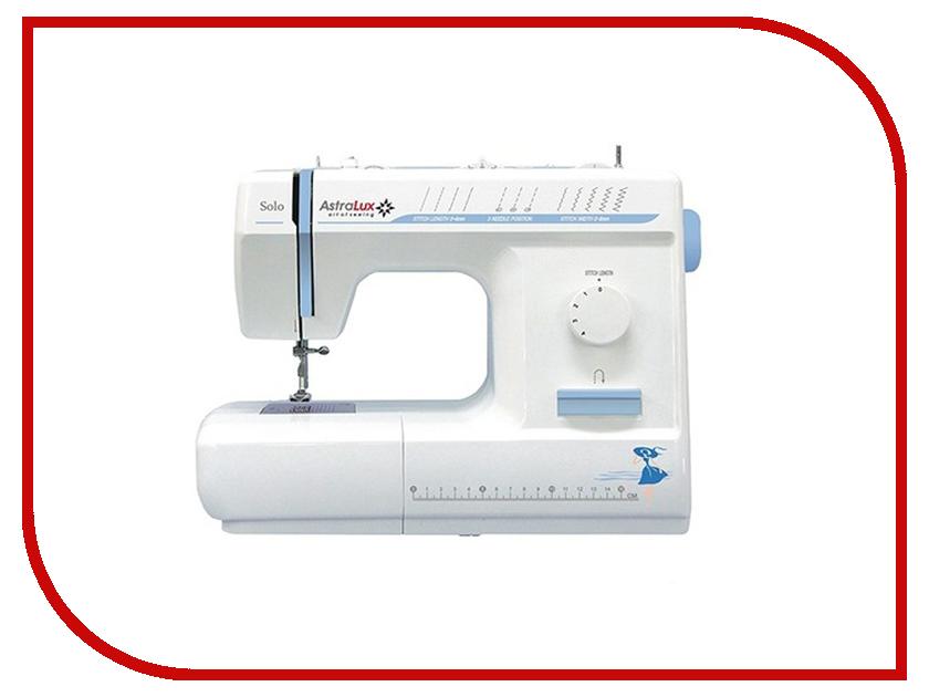 Швейная машинка Astralux Solo швейная машинка astralux 7300 pro series