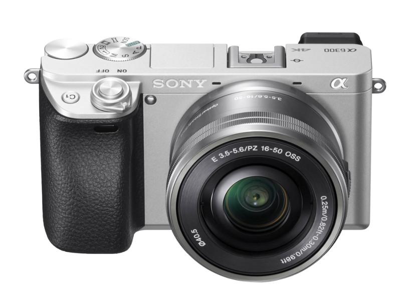 Фотоаппарат Sony Alpha ILCE-6300 Kit 16-50 mm PZ Silver фотоаппарат sony alpha a6000 kit 16 50 mm f 3 5 5 6 e oss pz white