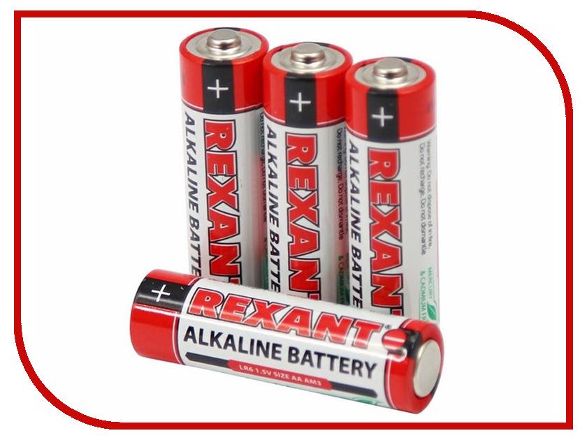 Батарейка AA - Rexant LR6 1.5V 2700mAh 30-1027 батарейка rexant lr58 ag11 lr721 g11 162 gp62a 362 sr721w 30 1030 2 штуки