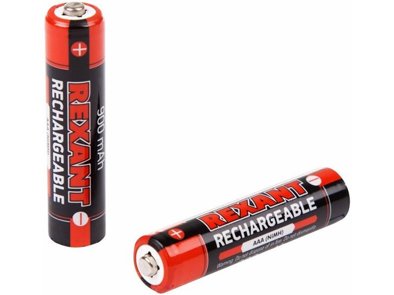 Аккумулятор AAA - Rexant 1.2V 900mAh 2шт 30-1409