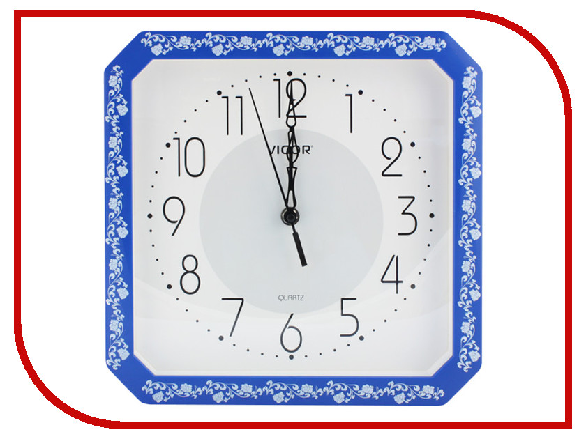 Часы Vigor К-28 Классика Blue часы vigor д 29 розовые розы