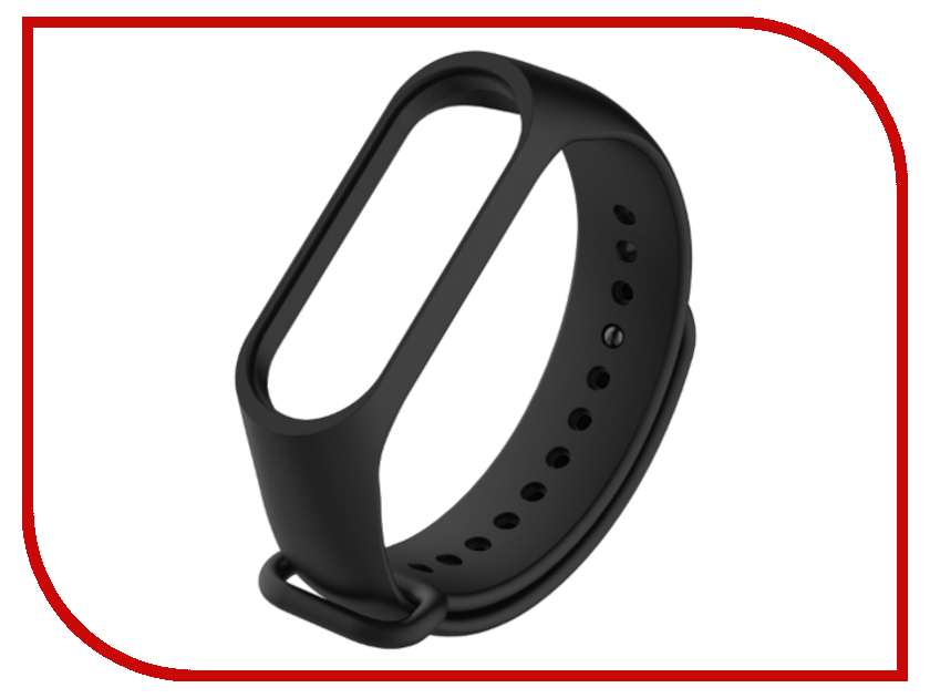 Aксессуар Ремешок Xiaomi Mi Band 3 Black умные часы xiaomi amazfit watch band black pace smartwatch black