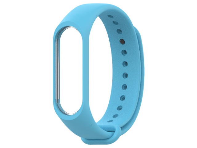 Aксессуар Ремешок Xiaomi Mi Band 3 Silicone Blue hot sale wrist band replacement soft silicone bracelet sport strap wristband accessory for garmin vivosmart drop shipping 3 2