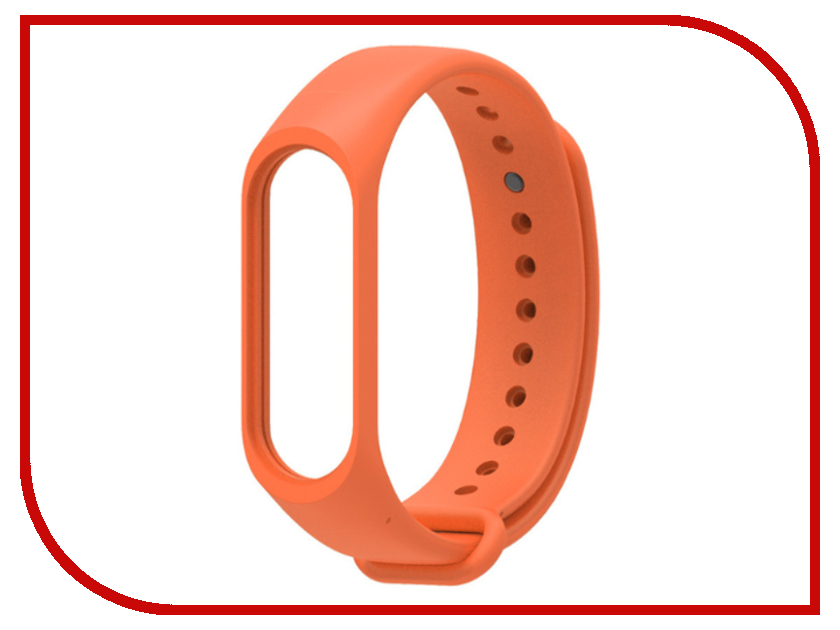 Aксессуар Ремешок Xiaomi Mi Band 3 Orange makibes s1 replacement wristband strap orange