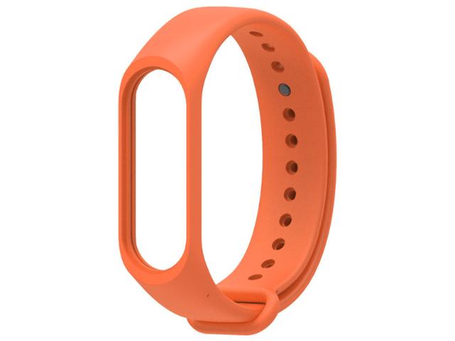 Aксессуар Xiaomi Силиконовый ремешок для Mi Band 3 Orange aксессуар ремешок qstar для qs myday 01 orange
