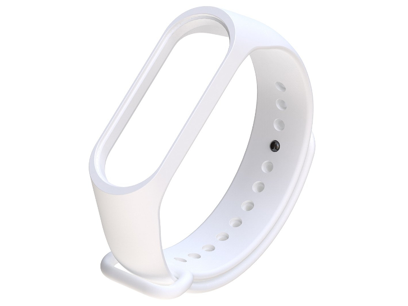 Aксессуар Ремешок Xiaomi Mi Band 3 Silicone White hot sale wrist band replacement soft silicone bracelet sport strap wristband accessory for garmin vivosmart drop shipping 3 2