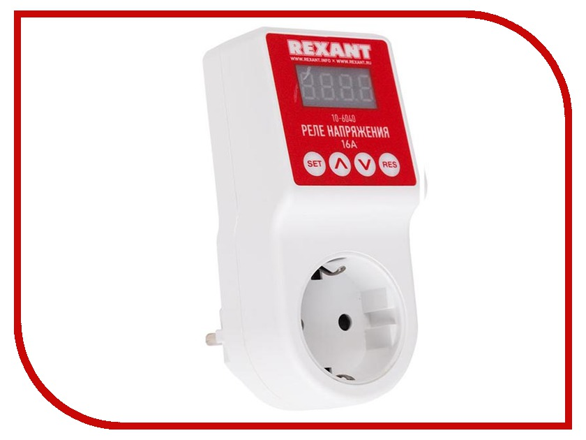 Реле контроля напряжения Rexant 10-6040
