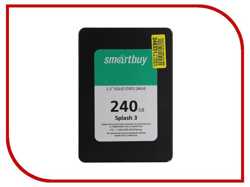 все цены на Жесткий диск SmartBuy Splash 3 240 GB (SB240GB-SPLH3-25SAT3)