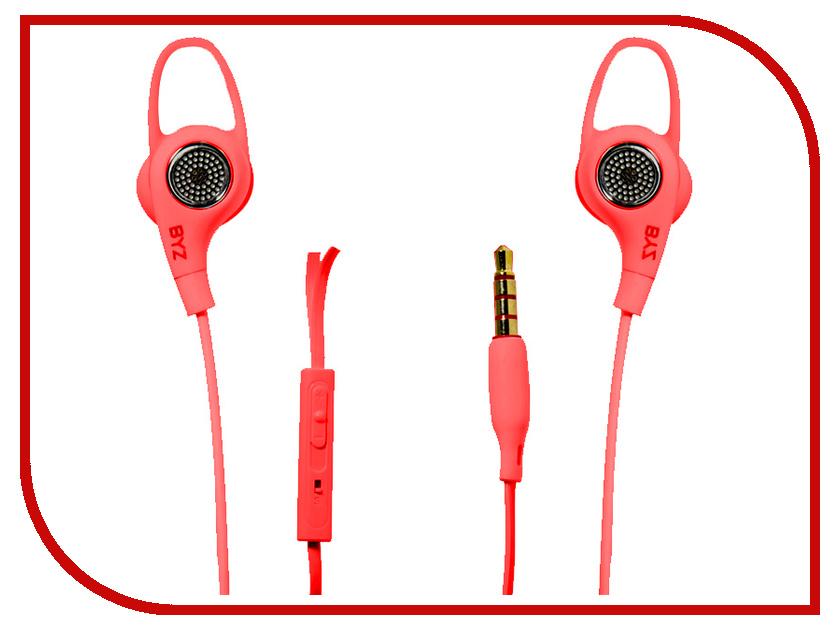 BYZ SE-880 Red наушники pioneer se e511