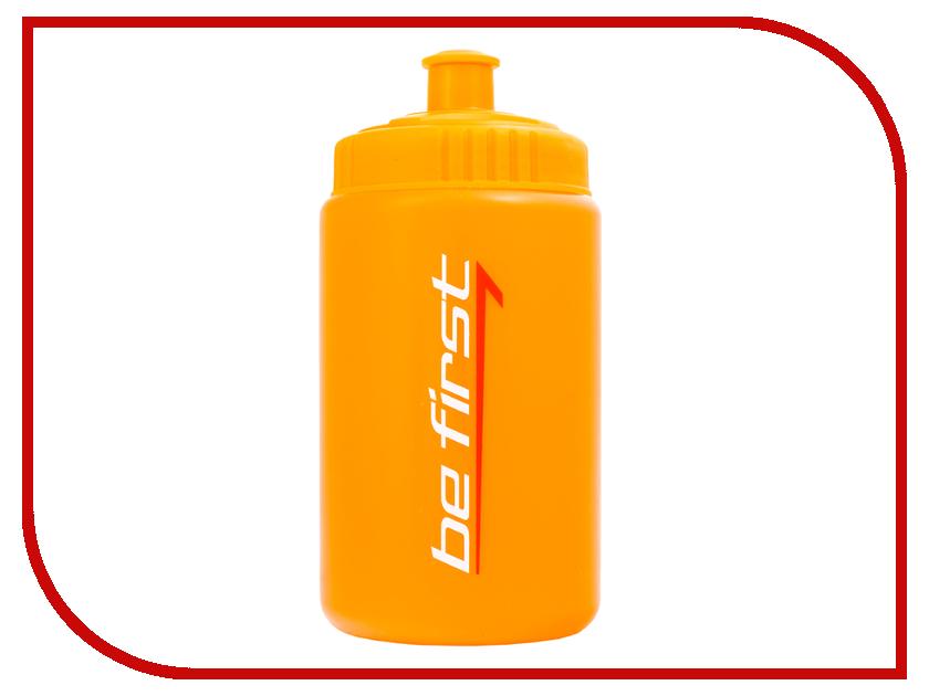 Бутылка Be First 500ml Orange SH729Or бутылка be first 500ml red matte