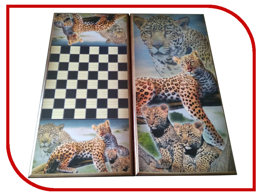 Игра Карты М Нарды-Шашки Леопарды 7050/23 аниме карты украшения канцтовары energy 23
