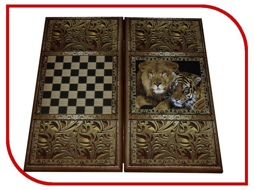Игра Карты М Нарды-Шашки Тигр 7060/24 обучение карты