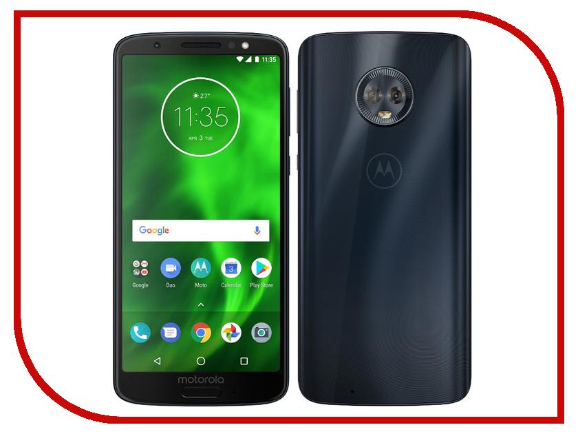 Сотовый телефон Motorola G6 XT1925-5 32Gb Blue motorola pulse 2 wired black