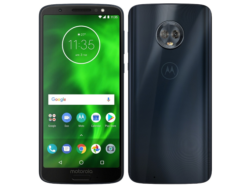 Сотовый телефон Motorola G6 XT1925-5 32Gb Blue телефон