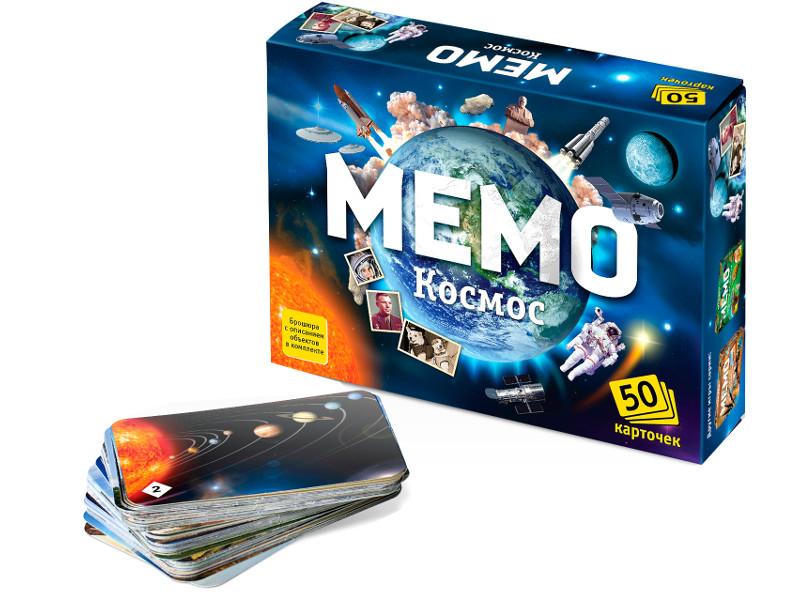 Настольная игра Нескучные игры Мемо Космос 7208/48 настольная игра нескучные игры затерянные города 8697 10