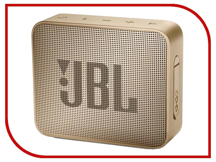 Колонка JBL GO 2 Champagne