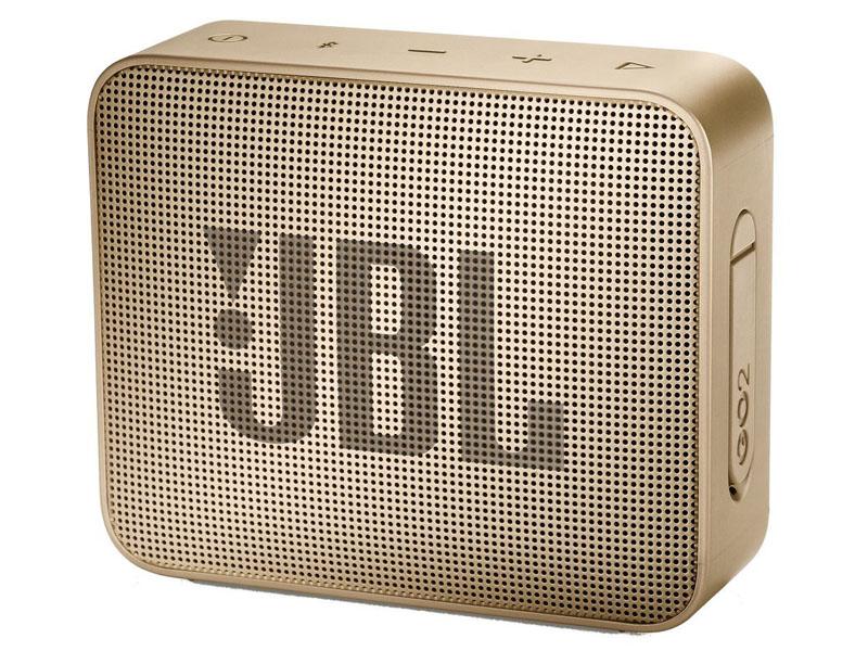 Колонка JBL GO 2 Champagne jbl go серый