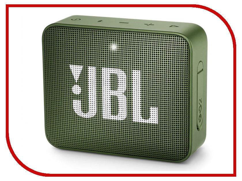 Колонка JBL GO 2 Green портативная bluetooth колонка jbl go 2 green