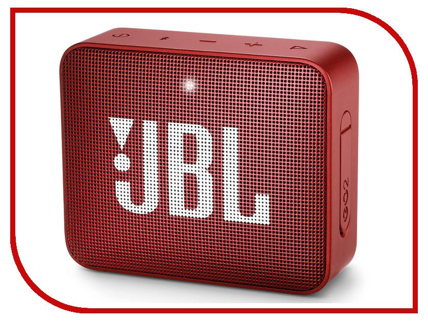 Колонка JBL GO 2 Red колонка jbl eon612