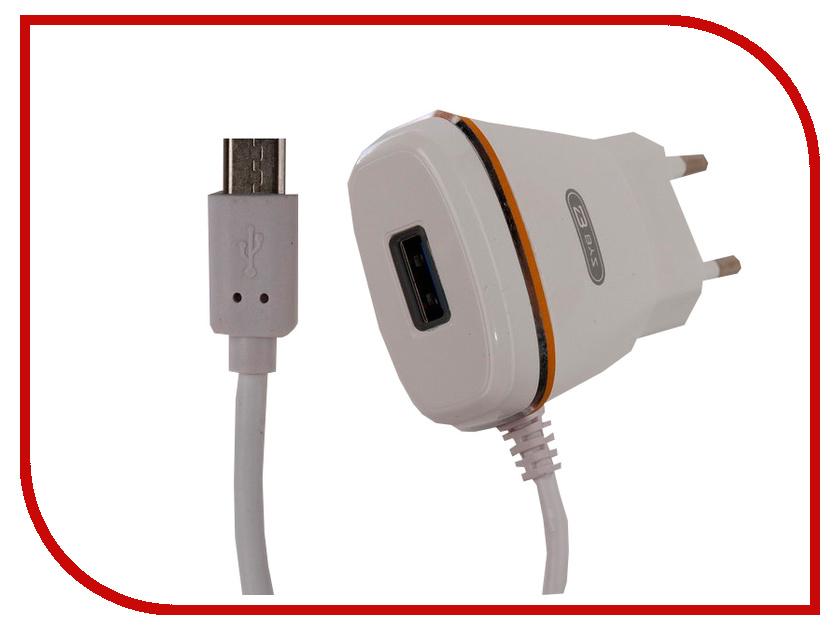 Зарядное устройство BYZ ZL-767 с кабелем MicroUSB White стилус zl 5pieces 3 5 huawei g716 for
