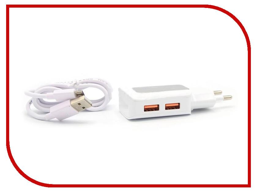 Зарядное устройство BYZ ZL-758 с кабелем MicroUSB White стилус zl 5pieces 3 5 huawei g716 for