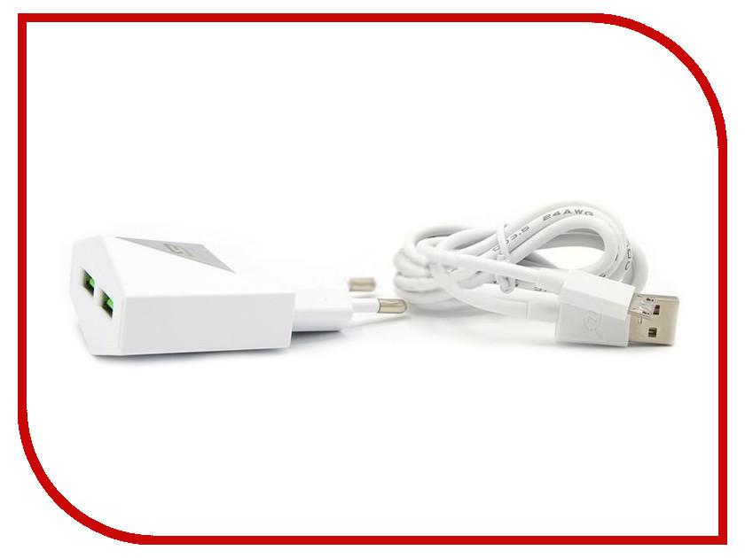 Зарядное устройство BYZ ZL-757 с кабелем MicroUSB White стилус zl 5pieces 3 5 huawei g716 for